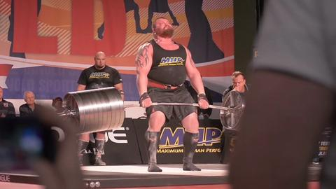 The World's Strongest Man Just Broke the 100m Rowing Record